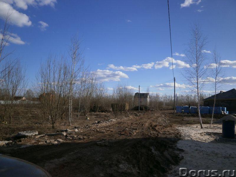 Участок 12 соток в Рубцово - Земельные участки - 30х40 на вьезде в Рубцово,6 км от Рязани.Хороший по..., фото 1